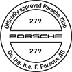 Officially approved Porsche Club 279